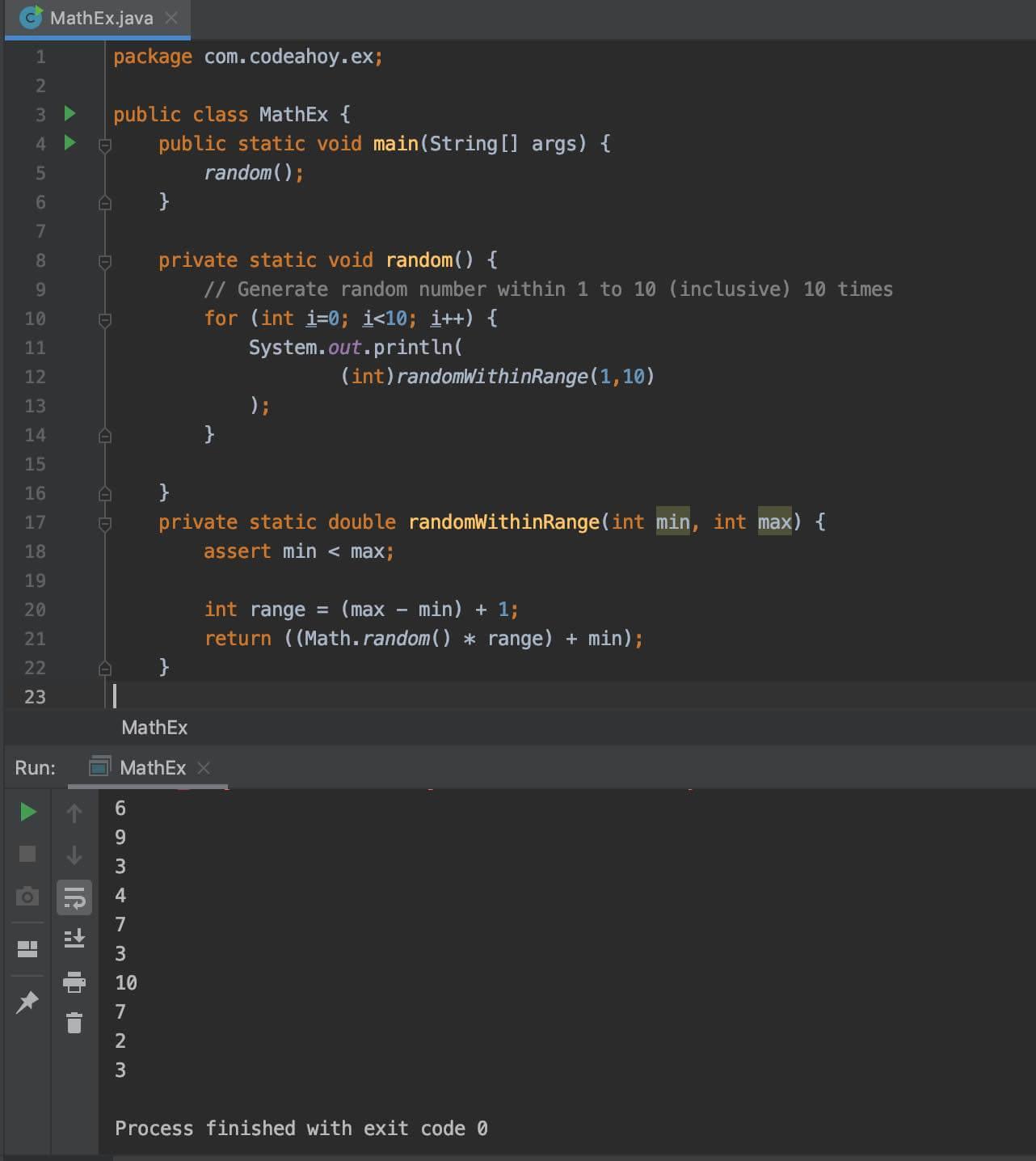 random-code-ide